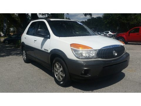 Olympic White 2003 Buick Rendezvous CX