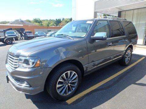 Magnetic Gray 2017 Lincoln Navigator Select 4x4