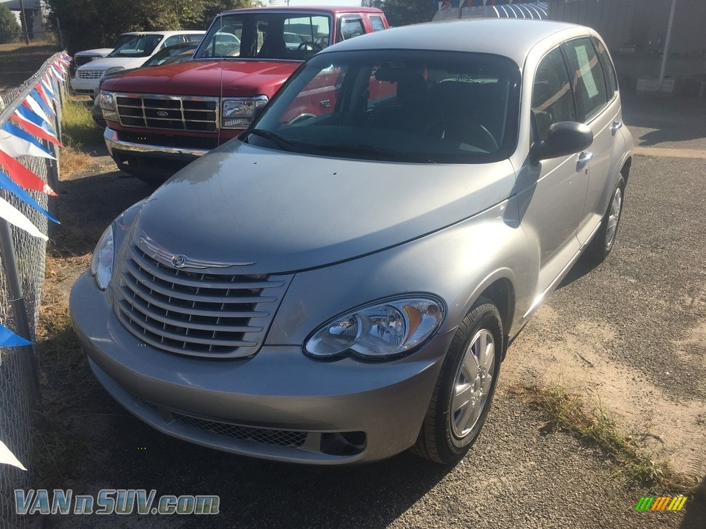 2008 PT Cruiser LX - Bright Silver Metallic / Pastel Slate Gray photo #1