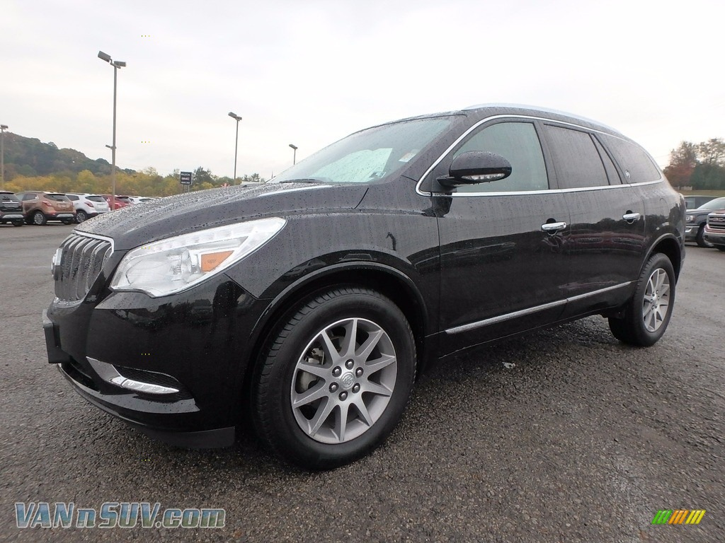 2017 Enclave Leather AWD - Ebony Twilight Metallic / Ebony/Ebony photo #1