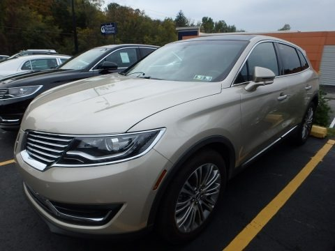 Palladium White Gold 2017 Lincoln MKX Reserve AWD
