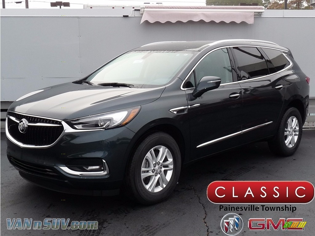 2018 Enclave Essence AWD - Dark Slate Metallic / Dark Galvanized photo #1