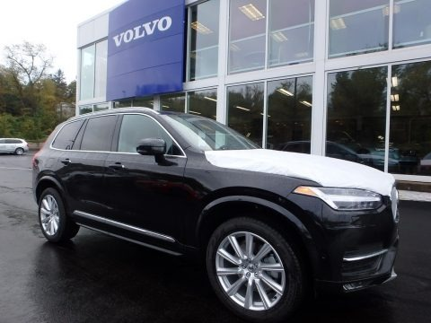 Onyx Black Metallic 2018 Volvo XC90 T6 AWD