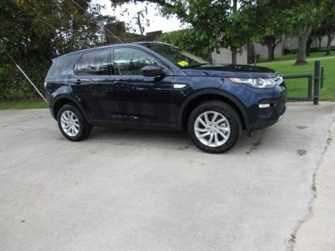 Loire Blue Metallic 2017 Land Rover Discovery Sport HSE