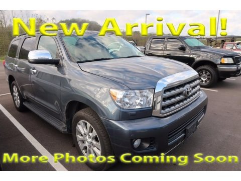 Pyrite Gray Mica 2008 Toyota Sequoia Limited 4WD