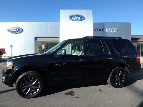 Shadow Black 2017 Ford Expedition Limited 4x4