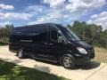 Mercedes-Benz Sprinter 2500 High Roof Extended Cargo Van Carbon Black Metallic photo #1
