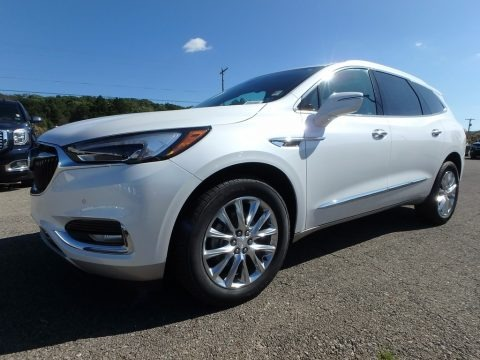 Summit White 2018 Buick Enclave Premium AWD