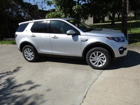 Indus Silver Metallic 2017 Land Rover Discovery Sport HSE