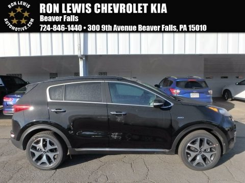 Black Cherry 2018 Kia Sportage SX Turbo AWD