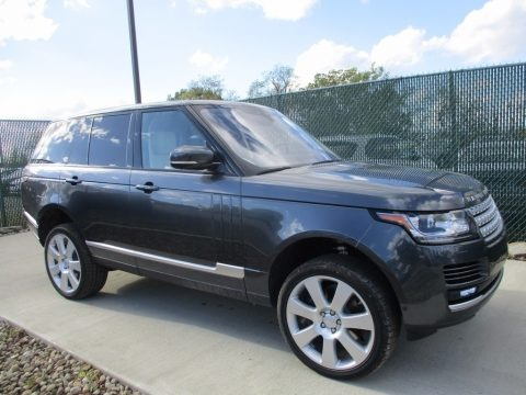 Waitomo Grey Metallic 2017 Land Rover Range Rover Supercharged