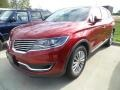 Lincoln MKX Select Ruby Red Metallic photo #1