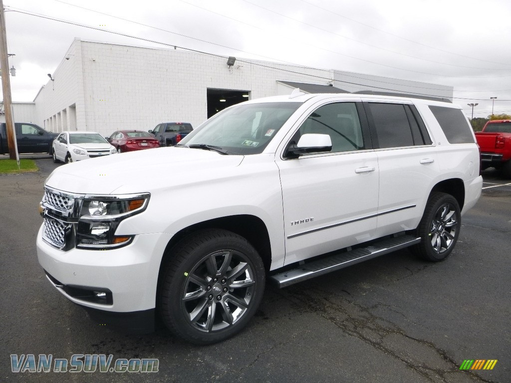 2018 Tahoe LT 4WD - Iridescent Pearl Tricoat / Jet Black/Ash Gray photo #1