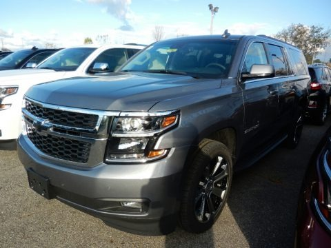 Satin Steel Metallic 2018 Chevrolet Suburban LT 4WD