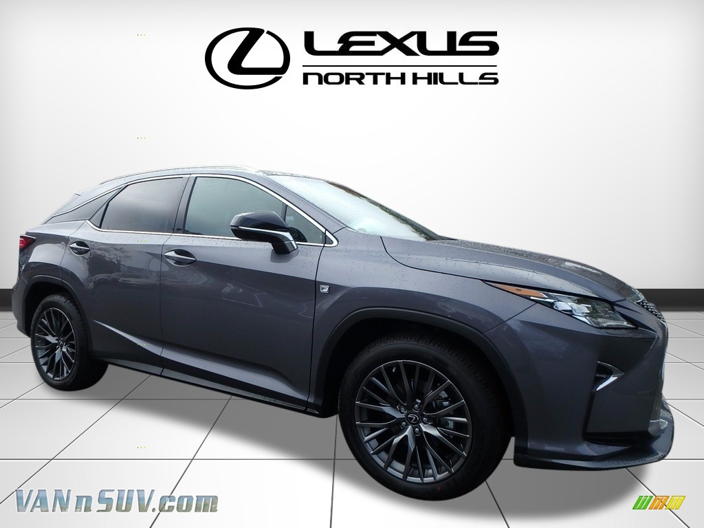 2017 RX 350 AWD - Nebula Gray Pearl / Black photo #1