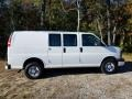 Chevrolet Express 2500 Cargo Van Summit White photo #4