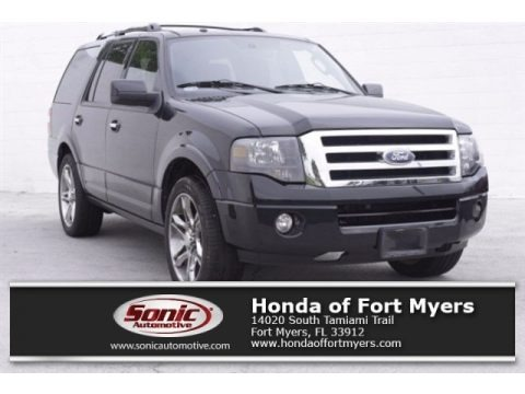 Tuxedo Black 2013 Ford Expedition Limited 4x4