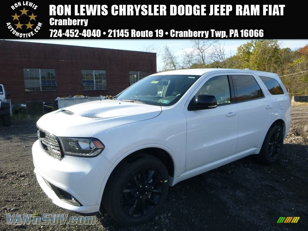2018 Durango GT AWD - White Knuckle / Black photo #1