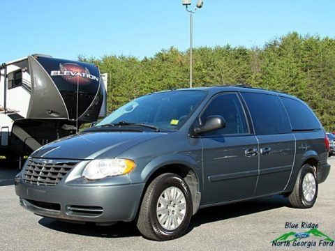 Marine Blue Pearl 2007 Chrysler Town & Country LX