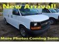 Chevrolet Express 1500 Cargo Van Summit White photo #1