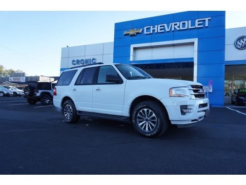 Oxford White 2017 Ford Expedition King Ranch 4x4