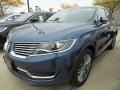 Lincoln MKX Reserve AWD Blue Diamond Metallic photo #1