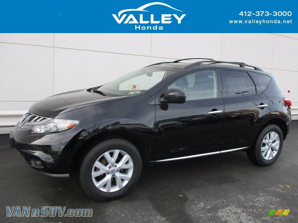 2011 Murano SL AWD - Super Black / Black photo #1