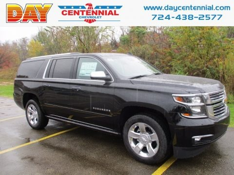 Black 2018 Chevrolet Suburban Premier 4WD