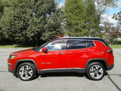 Redline Pearl 2018 Jeep Compass Limited