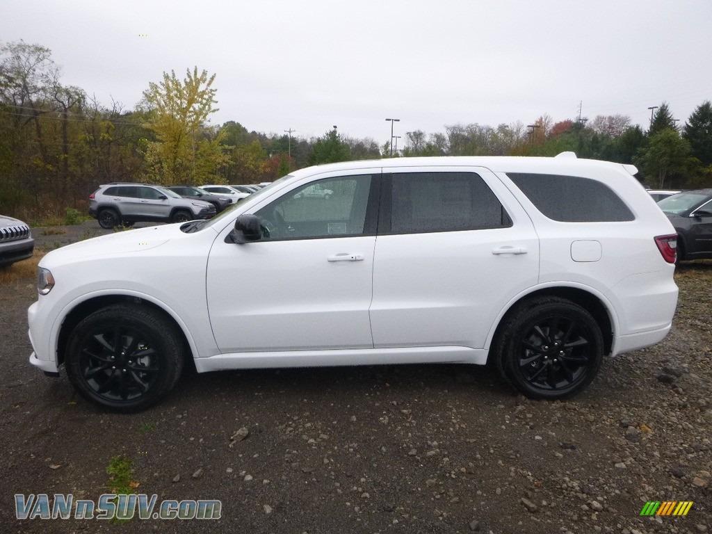 2018 Durango SXT AWD - White Knuckle / Black photo #2