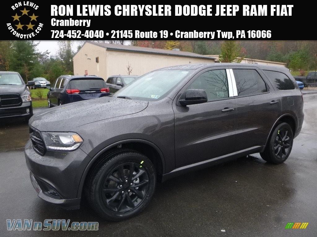 2018 Durango SXT AWD - Granite Metallic / Black photo #1