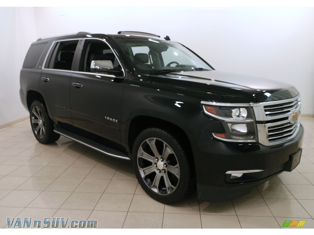 2015 Tahoe LTZ 4WD - Black / Jet Black photo #1