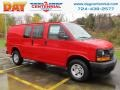 Chevrolet Express 2500 Cargo WT Red Hot photo #1