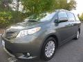 Toyota Sienna XLE Cypress Green Pearl photo #1