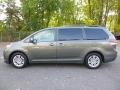 Toyota Sienna XLE Cypress Green Pearl photo #2