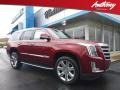 Cadillac Escalade Premium Luxury 4WD Red Passion Tintcoat photo #1