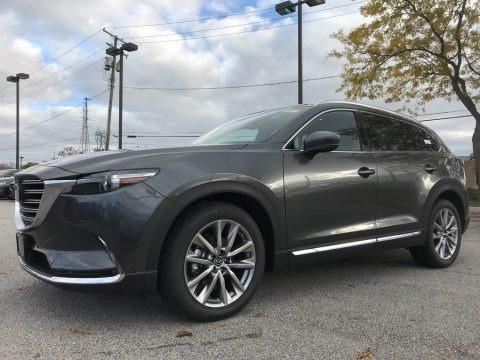 Machine Gray Metallic 2018 Mazda CX-9 Signature AWD