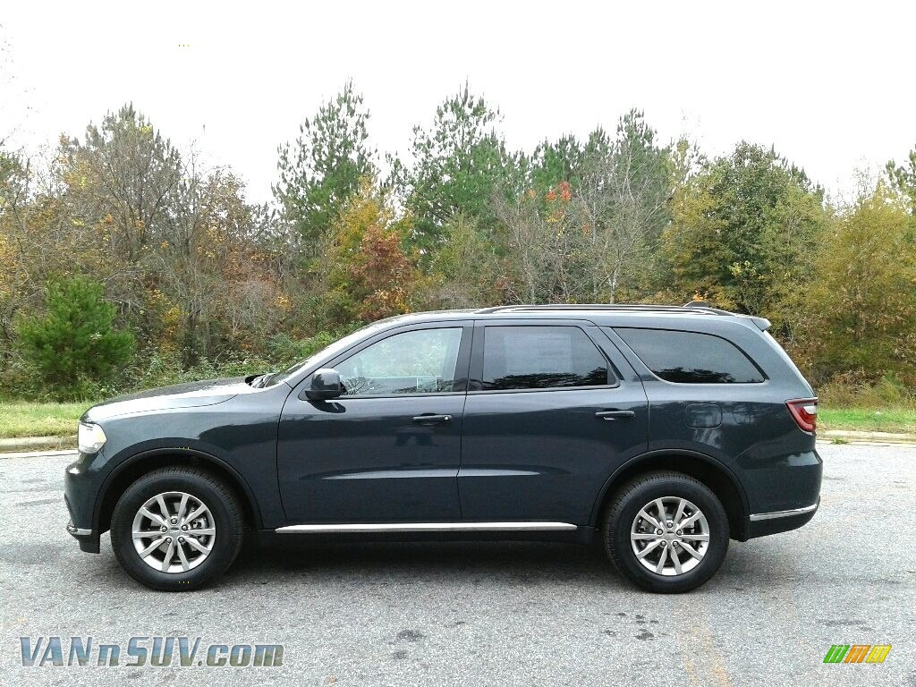 Bruiser Gray / Black Dodge Durango SXT AWD