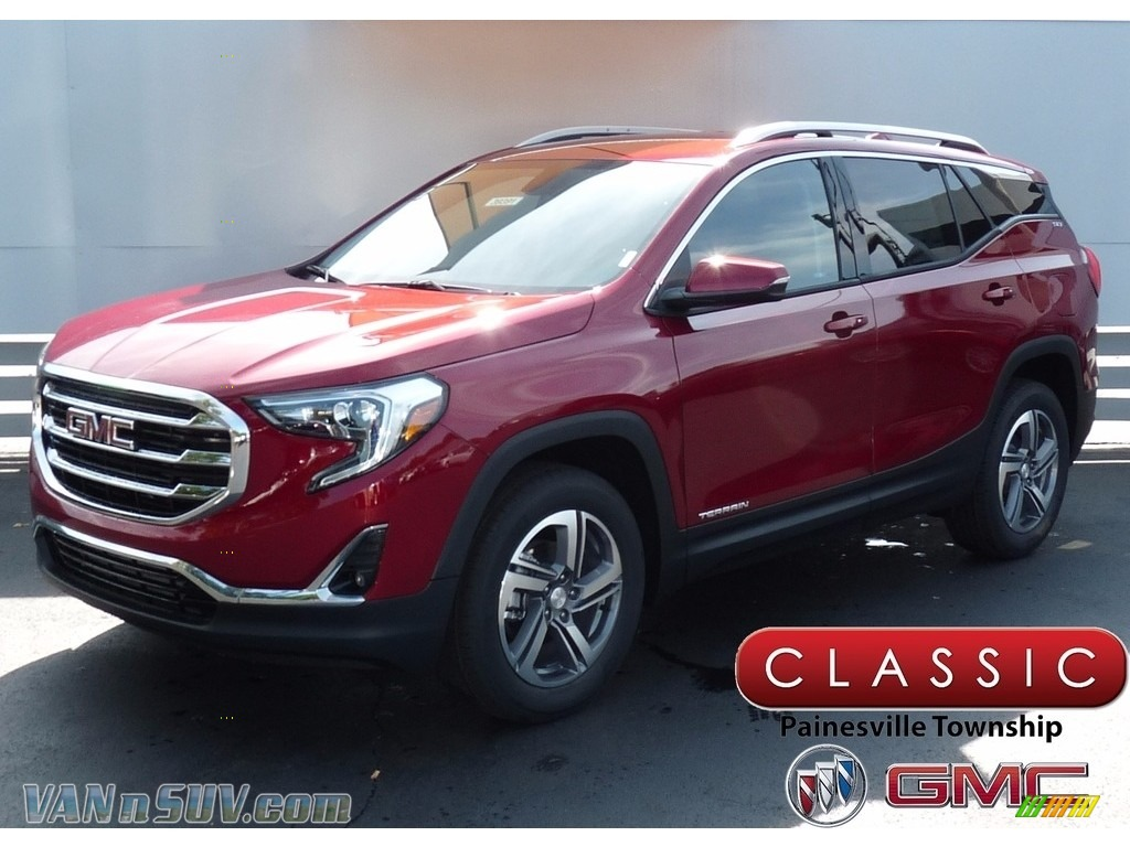 2018 Terrain SLT AWD - Red Quartz Tintcoat / ­Jet Black photo #1