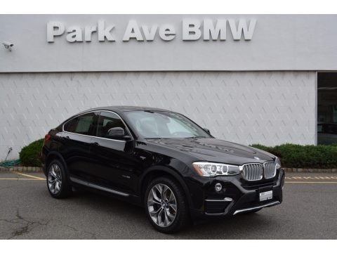 Jet Black 2018 BMW X4 xDrive28i