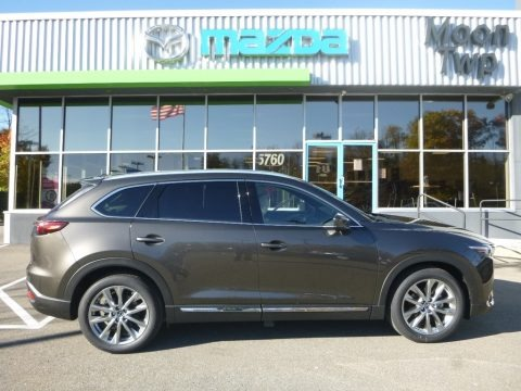 Titanium Flash Mica 2018 Mazda CX-9 Grand Touring AWD