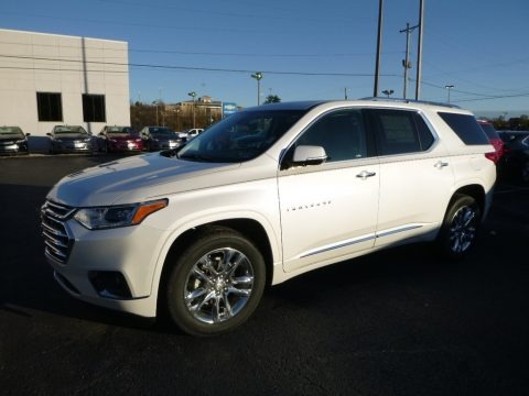 Iridescent Pearl Tricoat 2018 Chevrolet Traverse High Country AWD