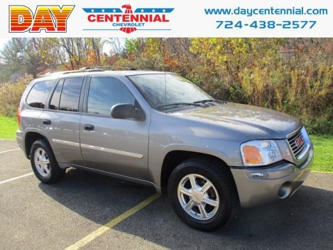 Steel Gray Metallic 2009 GMC Envoy SLE 4x4
