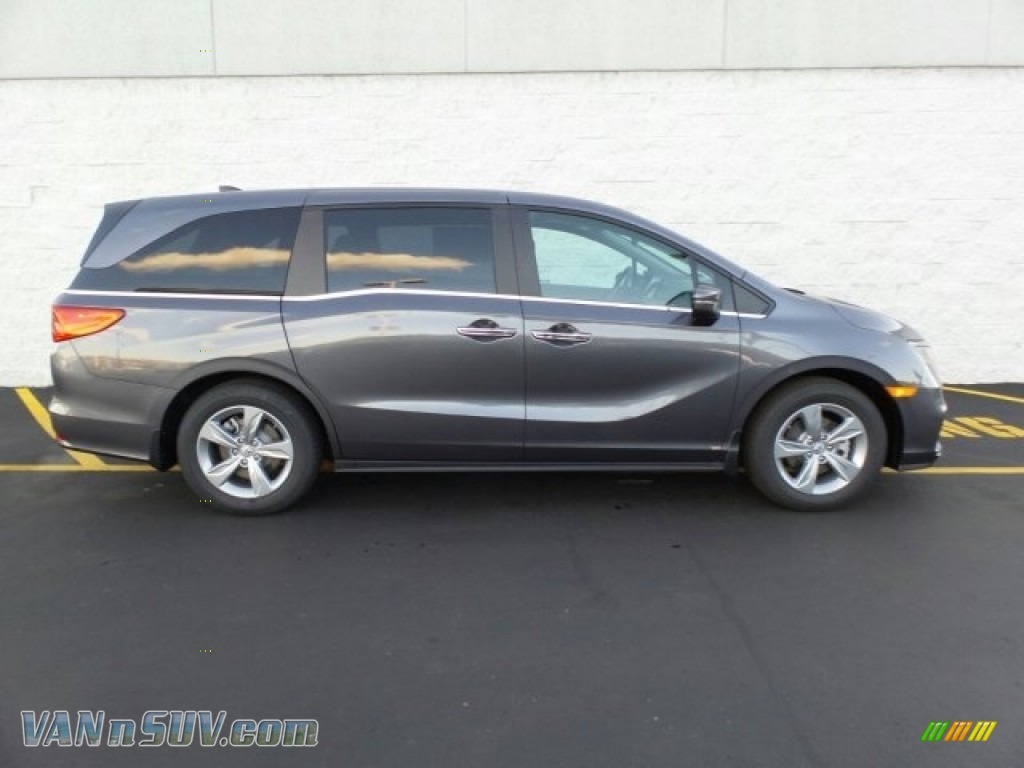 2018 Odyssey EX - Modern Steel Metallic / Gray photo #2