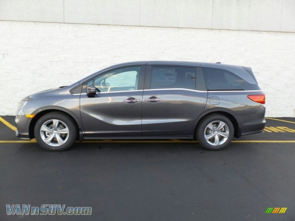 2018 Odyssey EX - Modern Steel Metallic / Gray photo #6