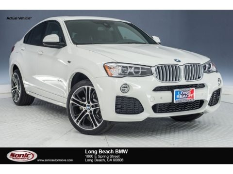 Alpine White 2018 BMW X4 xDrive28i
