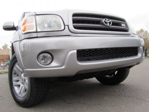 Silver Sky Metallic 2004 Toyota Sequoia SR5 4x4