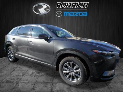 Machine Gray Metallic 2018 Mazda CX-9 Touring AWD