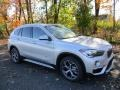 BMW X1 xDrive28i Glacier Silver Metallic photo #1