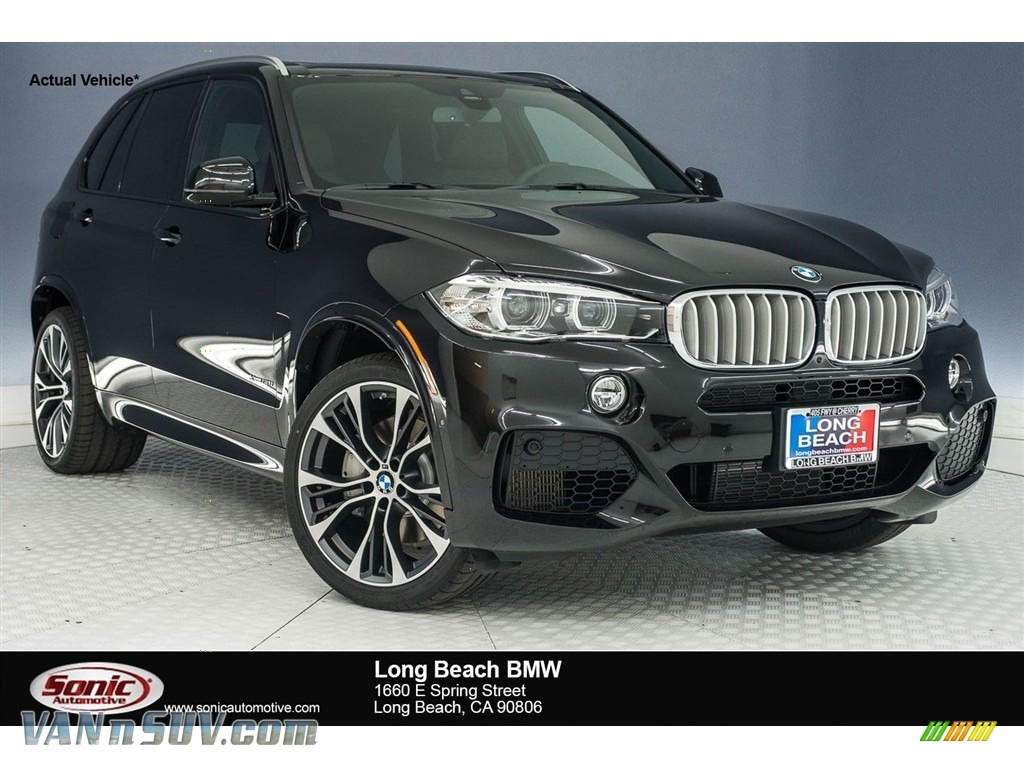 2018 X5 xDrive50i - Black Sapphire Metallic / Black photo #1